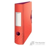 Папка-регистратор Leitz UrbanChic 82 мм красная