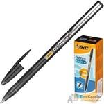 Ручка гелевая Bic Cristal черная (толщина линии 0.4 мм)