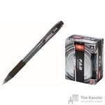 Ручка шариковая масляная автоматическая Unimax Fab GP черная (толщина линии 0.5 мм)