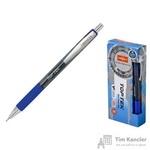 Ручка шариковая масляная автоматическая Unimax Top Tek RT синяя (толщина линии 0.5 мм)