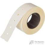 Этикет-лента прямоугольная белая 21.5х12 мм (200 рулонов по 800 этикеток)