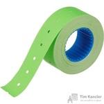 Этикет-лента прямоугольная зеленая 21.5х12 мм (200 рулонов по 800 этикеток)