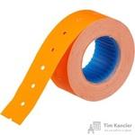 Этикет-лента прямоугольная оранжевая 21.5х12 мм (200 рулонов по 800 этикеток)