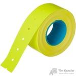 Этикет-лента прямоугольная желтая 21.5х12 мм (10 рулонов по 1000 этикеток)