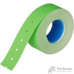 Этикет-лента прямоугольная зеленая 21.5х12 мм (10 рулонов по 1000 этикеток)