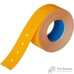 Этикет-лента прямоугольная оранжевая 21.5х12 мм (10 рулонов по 1000 этикеток)