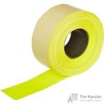 Этикет-лента прямоугольная желтая 26х16 мм (10 рулонов по 1000 этикеток)