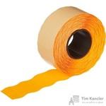 Этикет-лента волна оранжевая 26х16 мм (10 рулонов по 1000 этикеток)