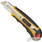 Нож универсальный Attache Selection 18 мм желтый/черный + 6 лезвий