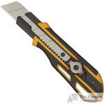 Нож универсальный Attache Selection Supreme 25 мм с фиксатором желтый/черный