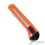 Нож канцелярский 18 мм с фиксатором