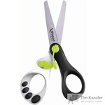 Ножницы детские Maped Панда (13 см, с автоматически раскрывающимися лезвиями для облегченной резки)