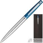 Ручка шариковая Verdie Ve-833 цвет чернил синий цвет корпуса серебристый