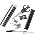 Набор наполнитель Attache 10 предметов к подставкам для канцелярских мелочей