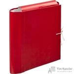 Папка архивная Attache А4 из бумвинила красная 120 мм (складная, 4 х/б завязки, до 1000 листов)