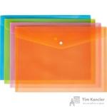 Папка-конверт Attache Fantasy на кнопке А4 (8 штук в упаковке)