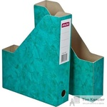 Вертикальный накопитель Attache Мрамор картонный зеленый ширина 70 мм (2 штуки в упаковке)