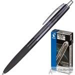 Ручка шариковая масляная автоматическая Pilot Super Grip BPGG-8R-F-B черная (толщина линии 0.22 мм)