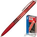 Ручка шариковая масляная автоматическая Pilot Super Grip BPGG-8R-F-R красная (толщина линии 0.22 мм)