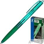 Ручка шариковая масляная автоматическая Pilot Super Grip BPGG-8R-F-G зеленая (толщина линии 0.22 мм)
