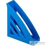 Вертикальный накопитель Attache Триколор пластиковый синий ширина 90 мм