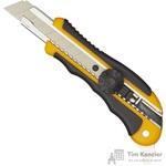 Нож универсальный Attache Selection 18 мм с резиновыми вставками и роликовым фиксатором