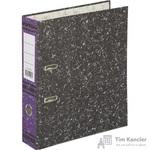 Папка-регистратор Attache 75 мм мрамор фиолетовая