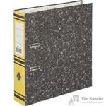 Папка-регистратор Attache 75 мм мрамор желтая