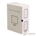 Короб архивный Attache гофрокартон белый 256x100х320 мм (5 штук в упаковке)