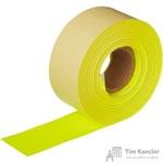 Этикет-лента прямоугольная желтая 29х28 мм (10 рулонов по 700 этикеток)