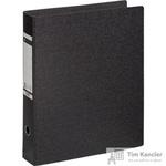 Папка-регистратор Leitz вертикальная формат А3 75 мм мрамор черная