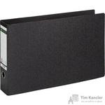 Папка-регистратор Leitz горизонтальная формат А3 75 мм мрамор черная