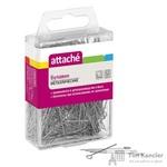 Булавки Attache металлические 30 мм (500 штук в упаковке)