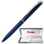 Ручка гелевая Pentel BL2007C-A EnerGel цвет чернил черный цвет корпуса синий