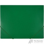 Папка на резинках Attache А4 пластиковая зеленая (0.6 мм, до 200 листов)