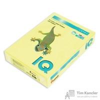 Бумага цветная для офисной техники IQ Color лимонно-желтая ZG34 (А4, 160 г/кв.м, 250 листов)