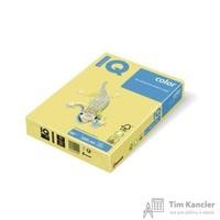 Бумага цветная для офисной техники IQ Color лимонно-желтая ZG34 (А3, 80 г/кв.м, 500 листов)