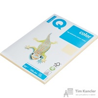 Бумага цветная для офисной техники IQ Color кремовая CR20 (A4, 80 г/кв.м, 100 листов)