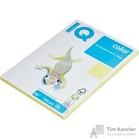 Бумага цветная для офисной техники IQ Color лимонно-желтая ZG34 (A4, 80 г/кв.м, 100 листов)