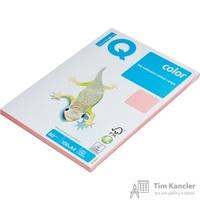 Бумага цветная для офисной техники IQ Color розовая PI25 (A4, 80 г/кв.м, 100 листов)