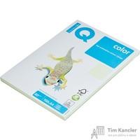 Бумага цветная для офисной техники IQ Color светло-зеленая GN27 (A4, 80 г/кв.м, 100 листов)