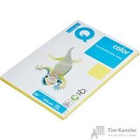 Бумага цветная для офисной техники IQ Color канареечно-желтая CY39 (A4, 80 г/кв.м, 100 листов)