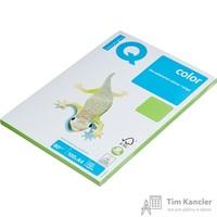 Бумага цветная для офисной техники IQ Color ярко-зеленая MA42 (A4, 80 г/кв.м, 100 листов)