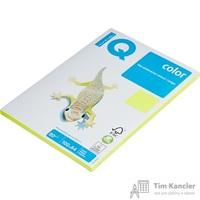 Бумага цветная для офисной техники IQ Color желтый неон NEOGB (A4, 80 г/кв.м, 100 листов)