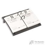 Подставка для перекидного календаря Attache черная (220x175x70 мм)