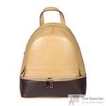 Рюкзак женский Sergio Belotti из натуральной кожи коричневого цвета (09-29/50)