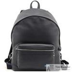Рюкзак Tony Perotti из натуральной кожи темно-синего цвета (564472)