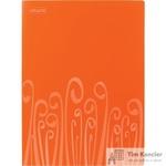 Папка с зажимом Attache Fantasy А4 0.5 мм оранжевая (до 120 листов)