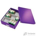 Короб-органайзер Leitz Click Store фиолетовый