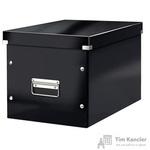 Короб Leitz Click Store куб L черный